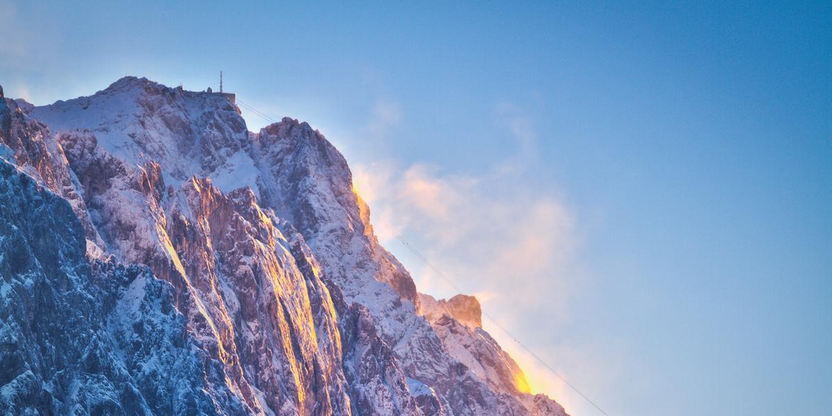 Gletscherski- und Wandergebiet Zugspitze