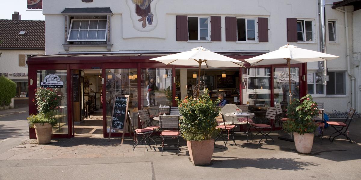 Bäckerei Wirthensohn in der Schloßstraße