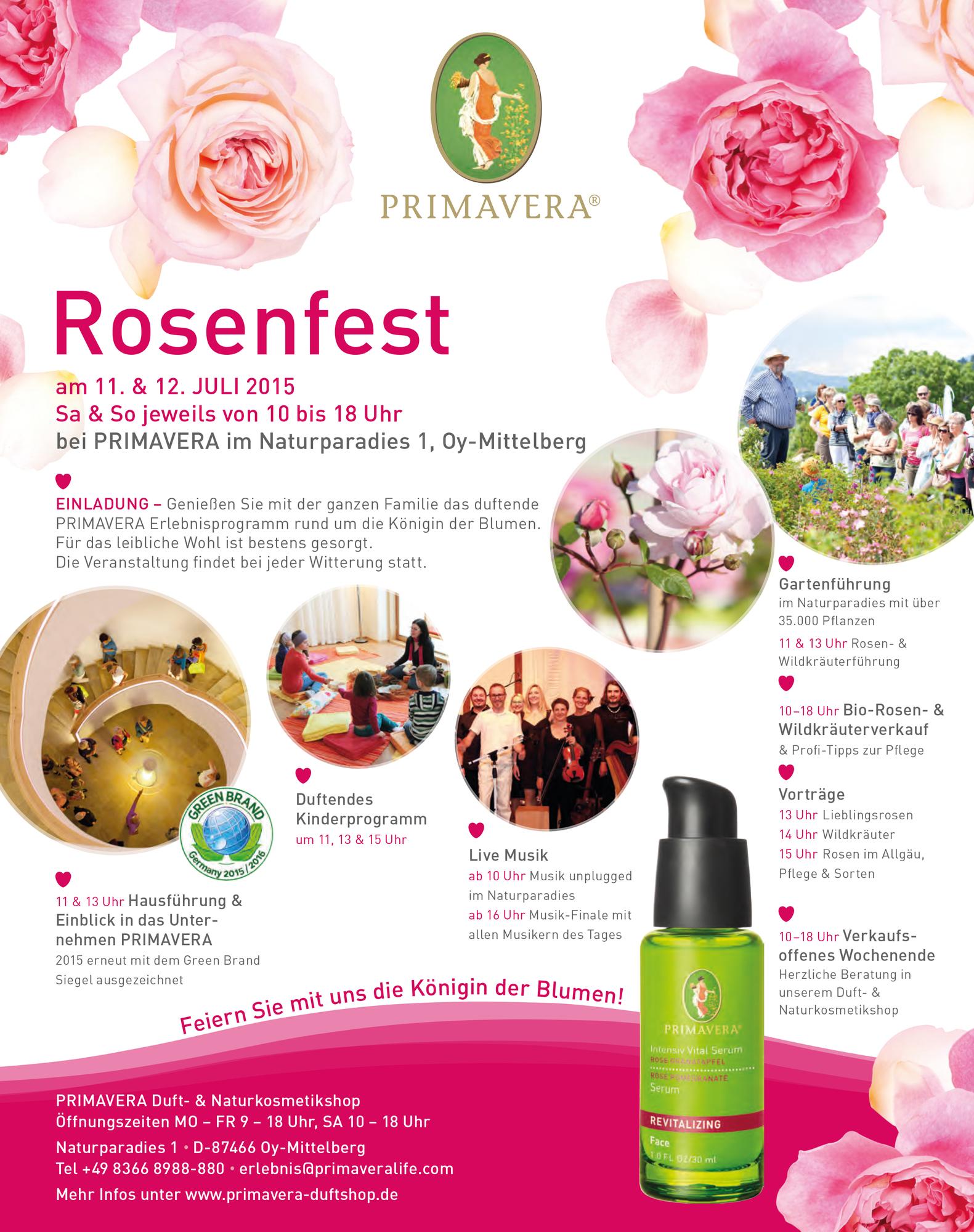 primavera rosenfest in oy mittelberg kempten gastfreund. Black Bedroom Furniture Sets. Home Design Ideas