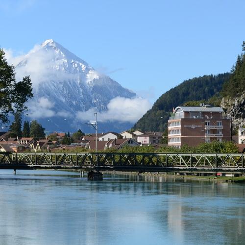 Aussenansicht Aparthotel Goldey Unterseen/Interlaken-Schweiz