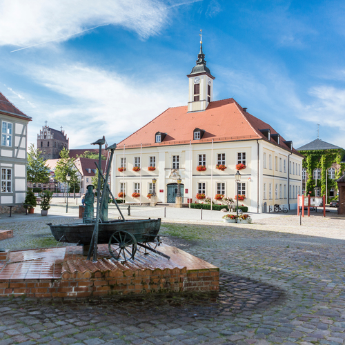 Marktplatz in Angermünde