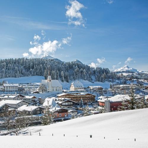 Fieberbrunn - Winteransicht