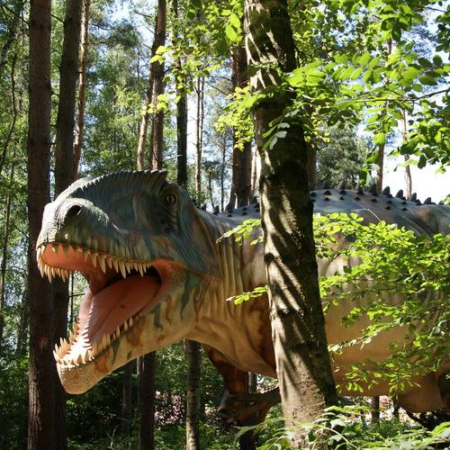 Dino im Dinosaurier-Park Münchehagen