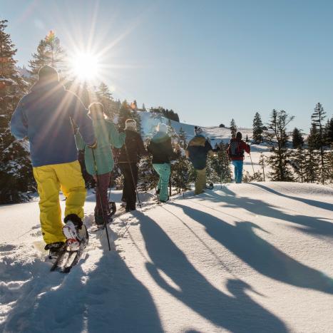 Schneeschuhtour im Toggenburg