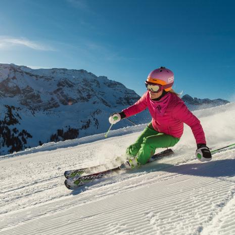 Skifahren in Adelboden 4