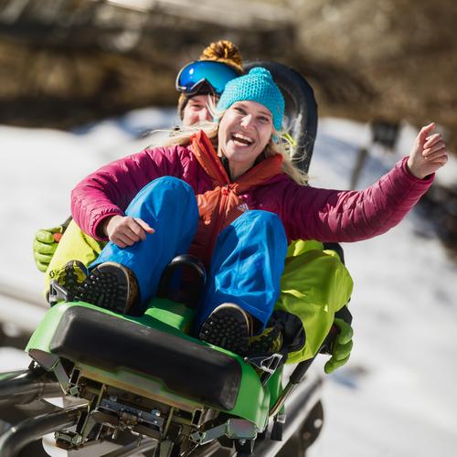 Freizeitpark Lucky Flitzer im Winter