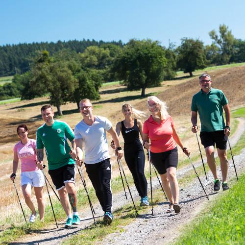 Aktivprogramm Nordic Walking