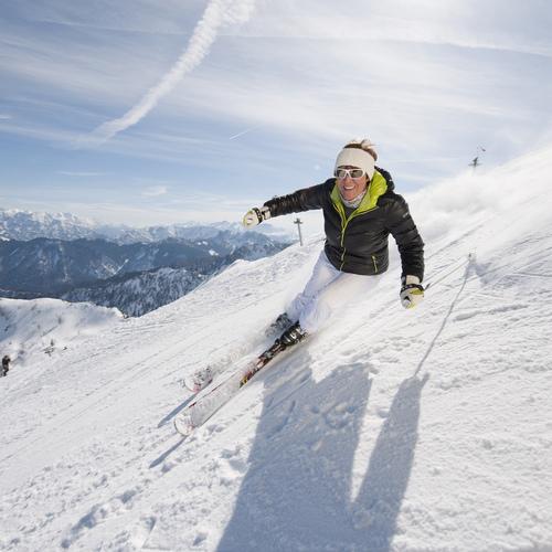 Mit Evi Mittermaier im Chiemgau Skifahren