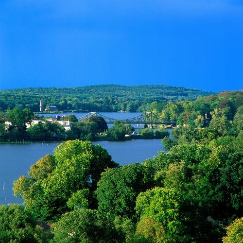Tiefer See und Glienicker Brücke