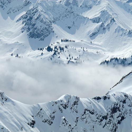 Nebelhorn im Winter