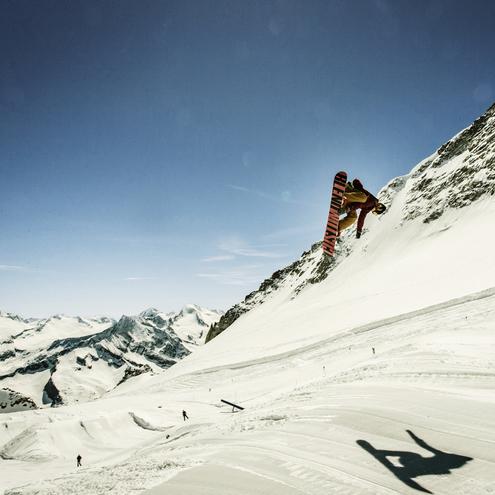 action im zillertaler snowpark