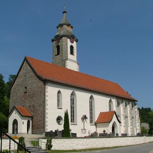 Kirche St. Alexander und Georg Niedersonthofen_Richard Mayer CC BY-SA 3.0 via Wikimedia Commons.JPG