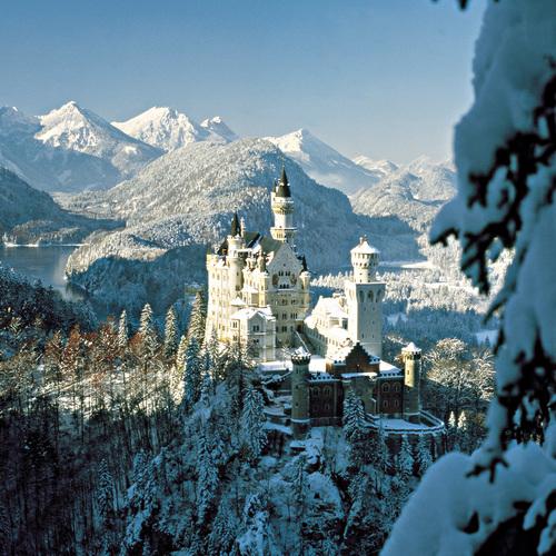 Neuschwanstein im Winter
