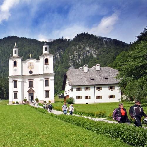 Maria Kirchtal mit Wallfahrtskirche