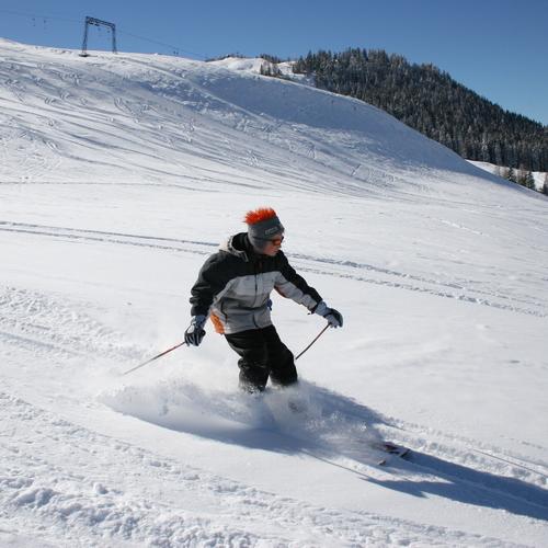 Skifahren Postalm