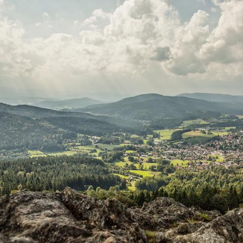 Felsen und Hügel