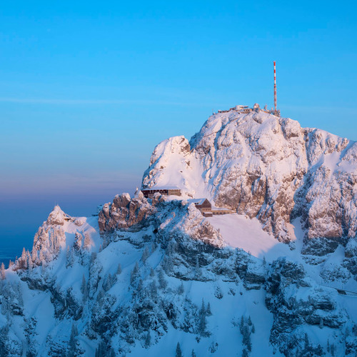Wendelstein im Winter