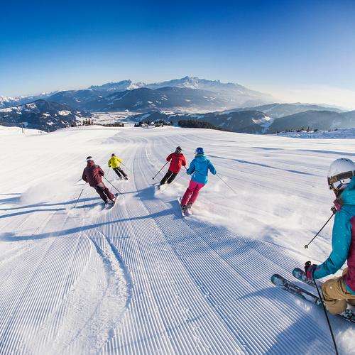 Skigebiet snow space Flachau