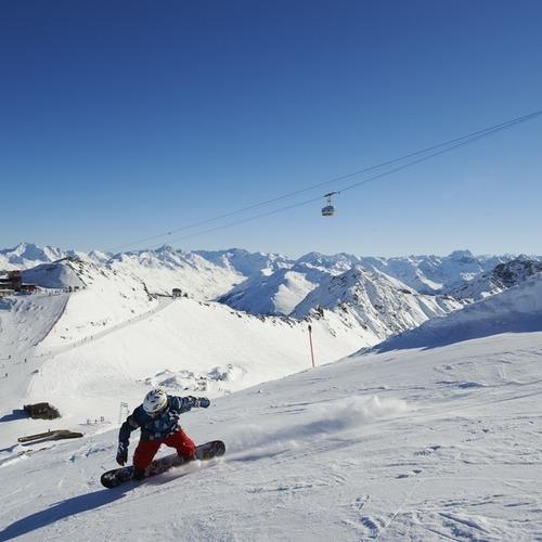 Schneesport Snowboard Piste Parsenn