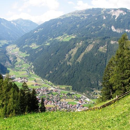 Zillertaler Berglandschaft
