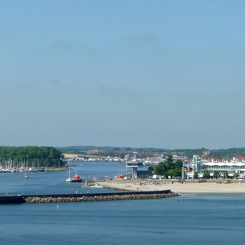 Panorama vom Meer