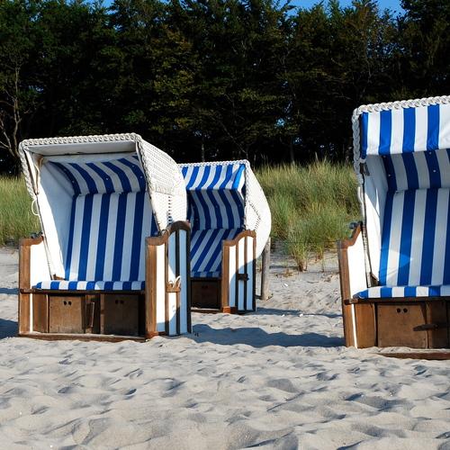 Strandkörbe Darß