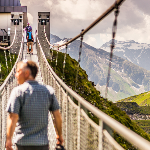 Hängebrücke am Stubnerkogel