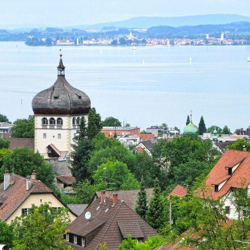 Aussicht vom Martinsturm Bregenz