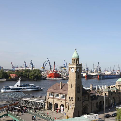 Landungsbrücken Hafen