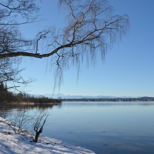 Starnberger See im Winter