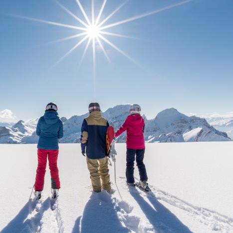 Wintersport mit Aussicht im Toggenburg