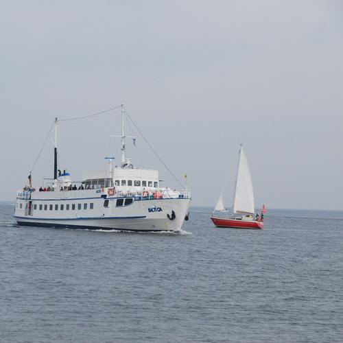 MS Baltica auf der Ostsee