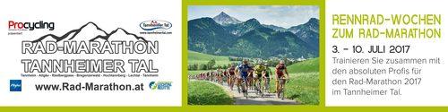 Rennrad-Wochen zum Rad-Marathon Tannheimer Tal 2017
