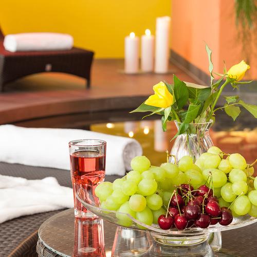 Hotel Hochland Wellnessbereich