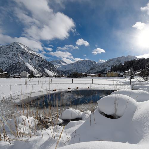 Obersee Winterstimmung