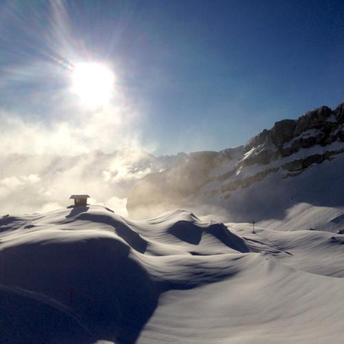 Winter Sonne Kleinwalsertal