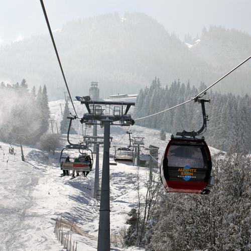 Alpspitzbahn Nesselwang Winter