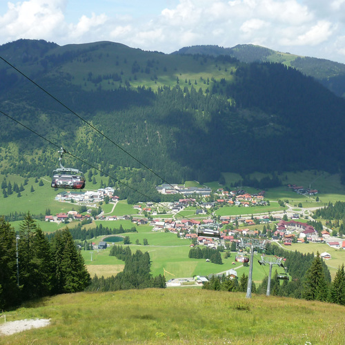 Bergbahnen Hindelang-Oberjoch im Sommer
