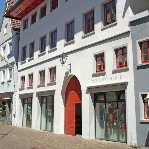 Gotisches Haus in Leutkirch - Vorderansicht -
