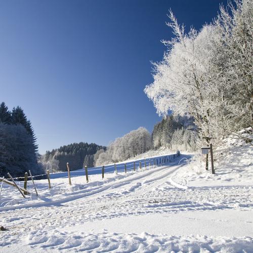 Sauerland Winterlandschaft