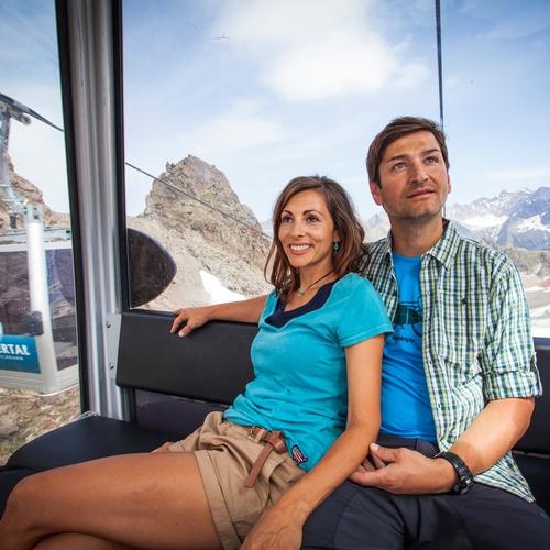 Karlesjochbahn am Kaunertaler Gletscher