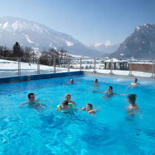 Alpenbad Pfronten im Winter