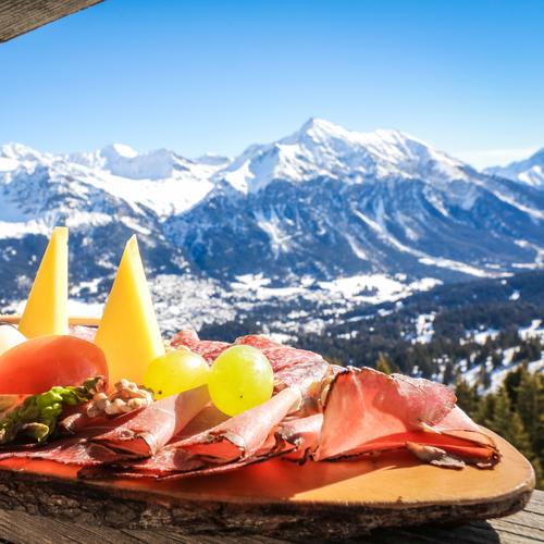 Bergrestaurant Alp Nova, Bündner Plättli