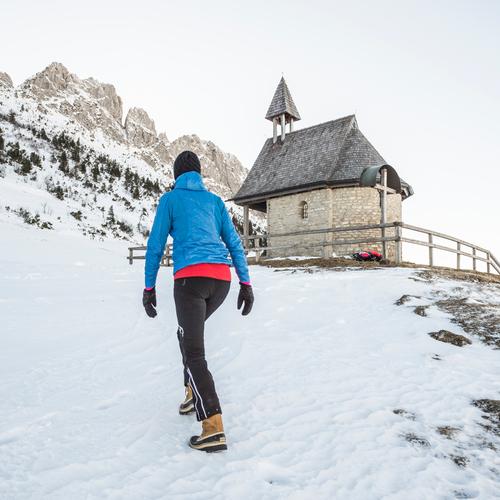 Winterwandern am Fuße der Kampenwand