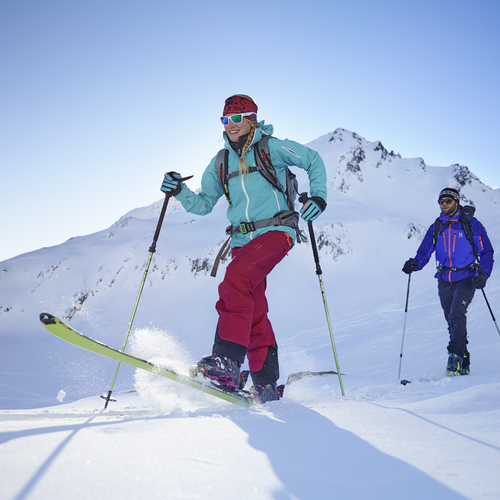Skitouren gehen in Kühtai
