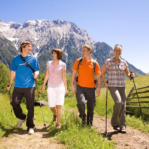 Wandern in der Alpenwelt Karwendel