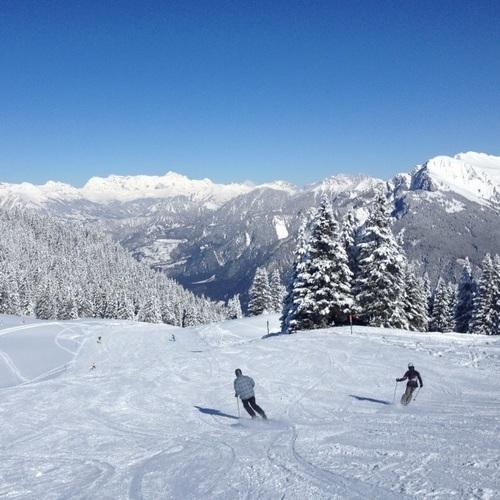 Skifahrer Brambruesch