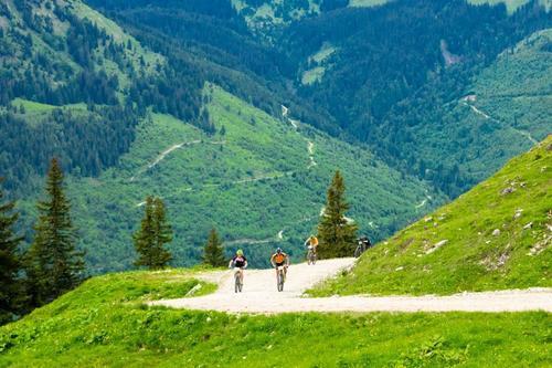 Südanstieg auf den Breitenberg