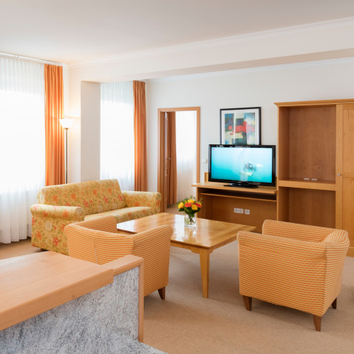 Wohnbeispiel Apartment Suite - Wohnbereich