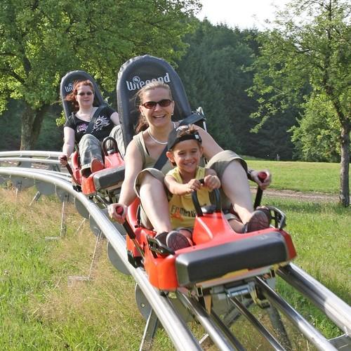 Sommerrodelbahn in Gutach